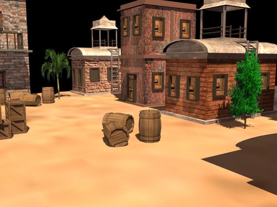 ambiente di gioco royalty-free 3d model - Preview no. 3
