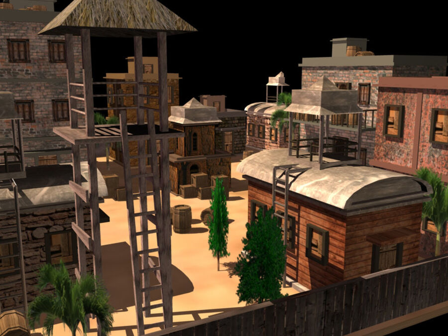 ambiente di gioco royalty-free 3d model - Preview no. 4