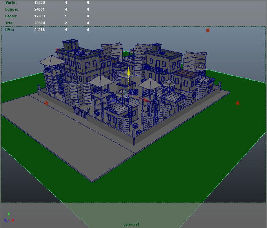 ambiente di gioco royalty-free 3d model - Preview no. 7