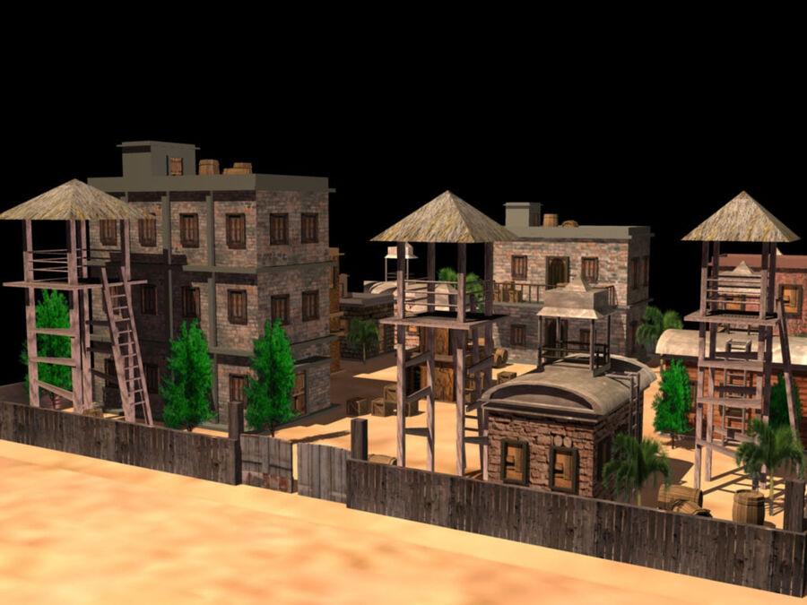 ambiente di gioco royalty-free 3d model - Preview no. 6