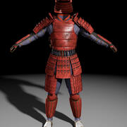 Armatura da samurai 3d model