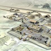 Base aerea militare di base 3d model