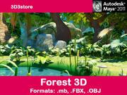 フォレスト3D v2 3d model