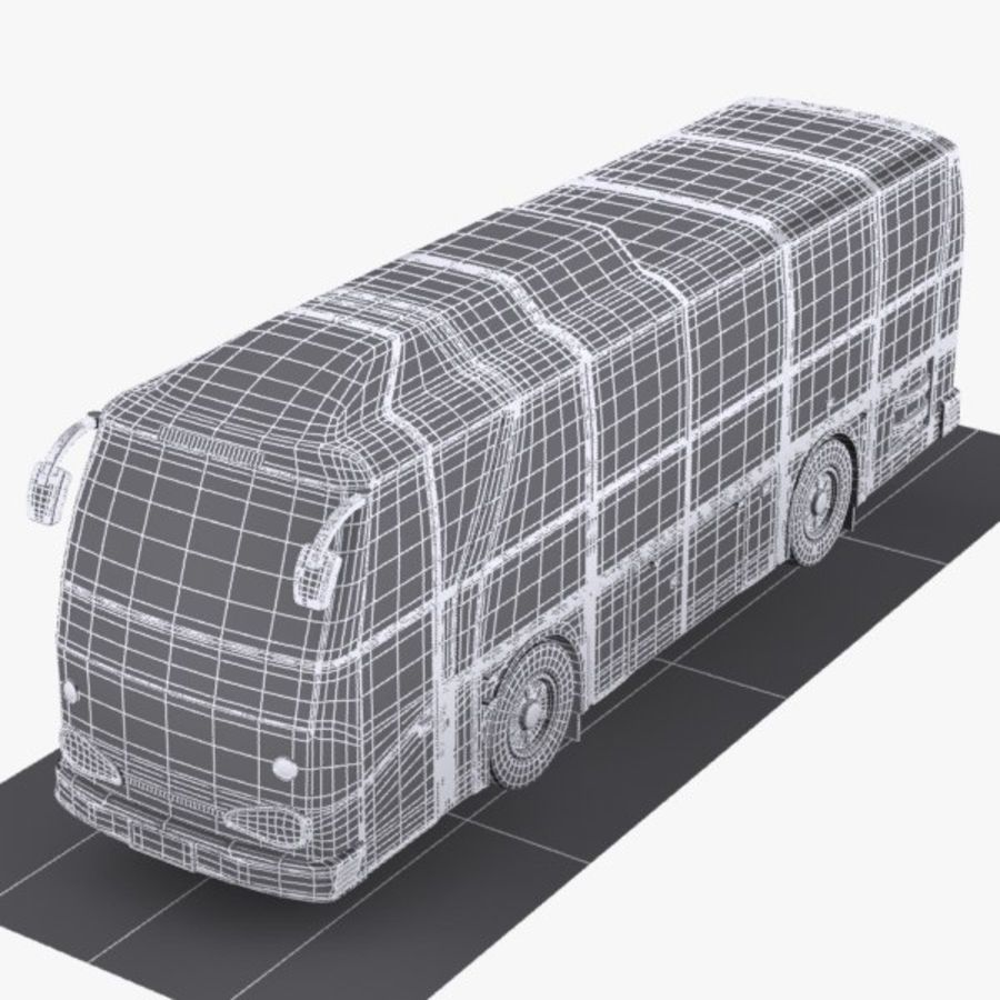 버스 royalty-free 3d model - Preview no. 7