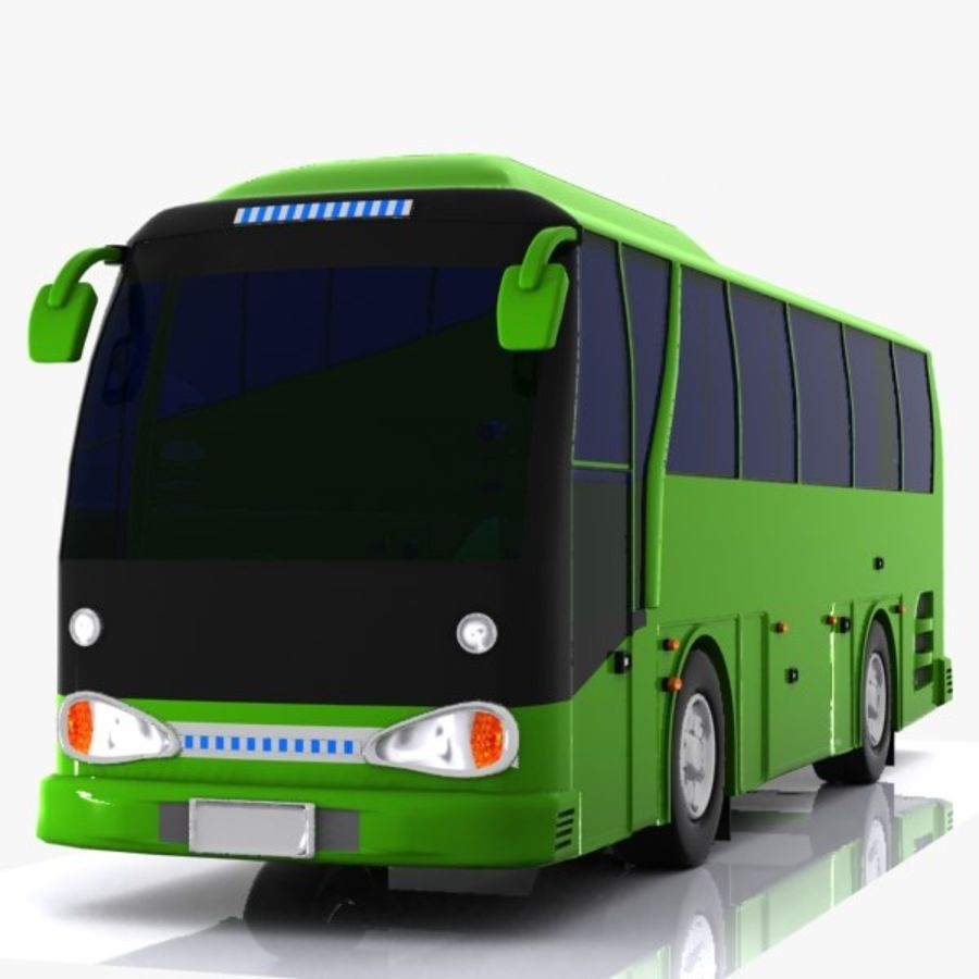 Bus royalty-free 3d model - Preview no. 5