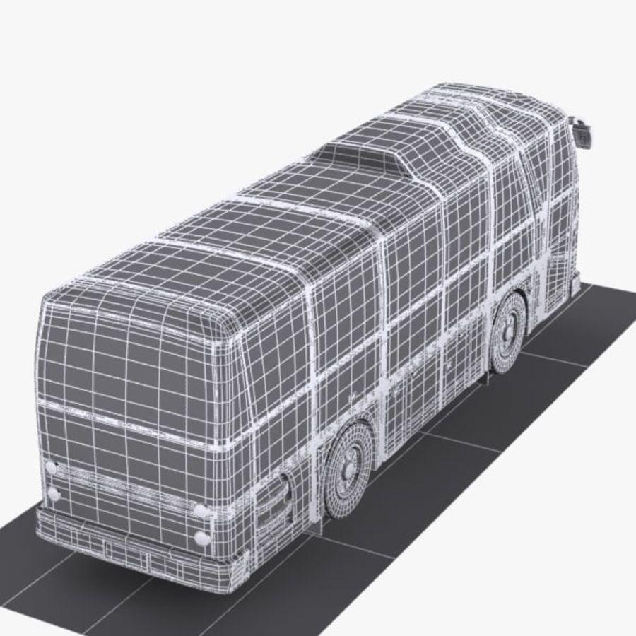 버스 royalty-free 3d model - Preview no. 9