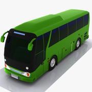 автобус 3d model