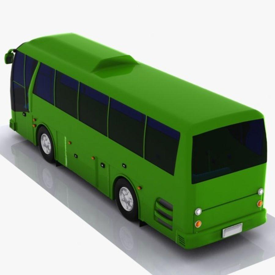 버스 royalty-free 3d model - Preview no. 6