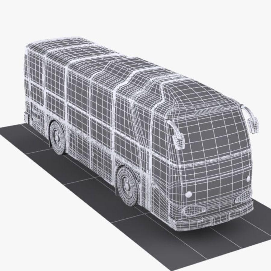 버스 royalty-free 3d model - Preview no. 8