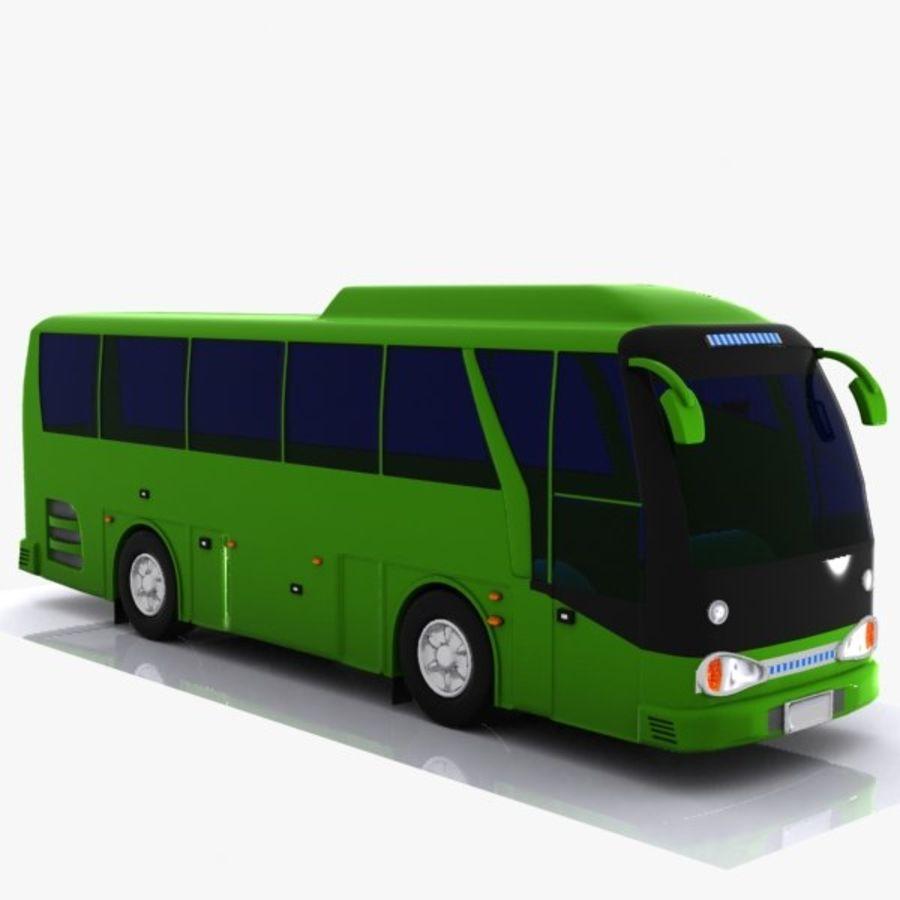 버스 royalty-free 3d model - Preview no. 3