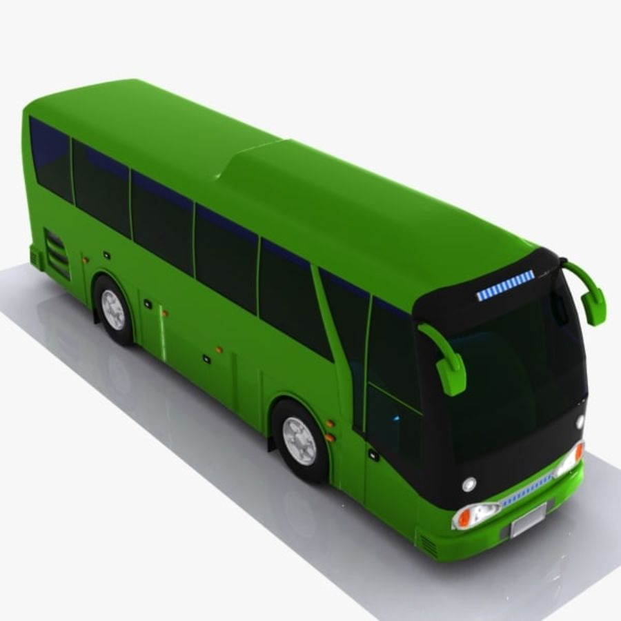 Bus royalty-free 3d model - Preview no. 4