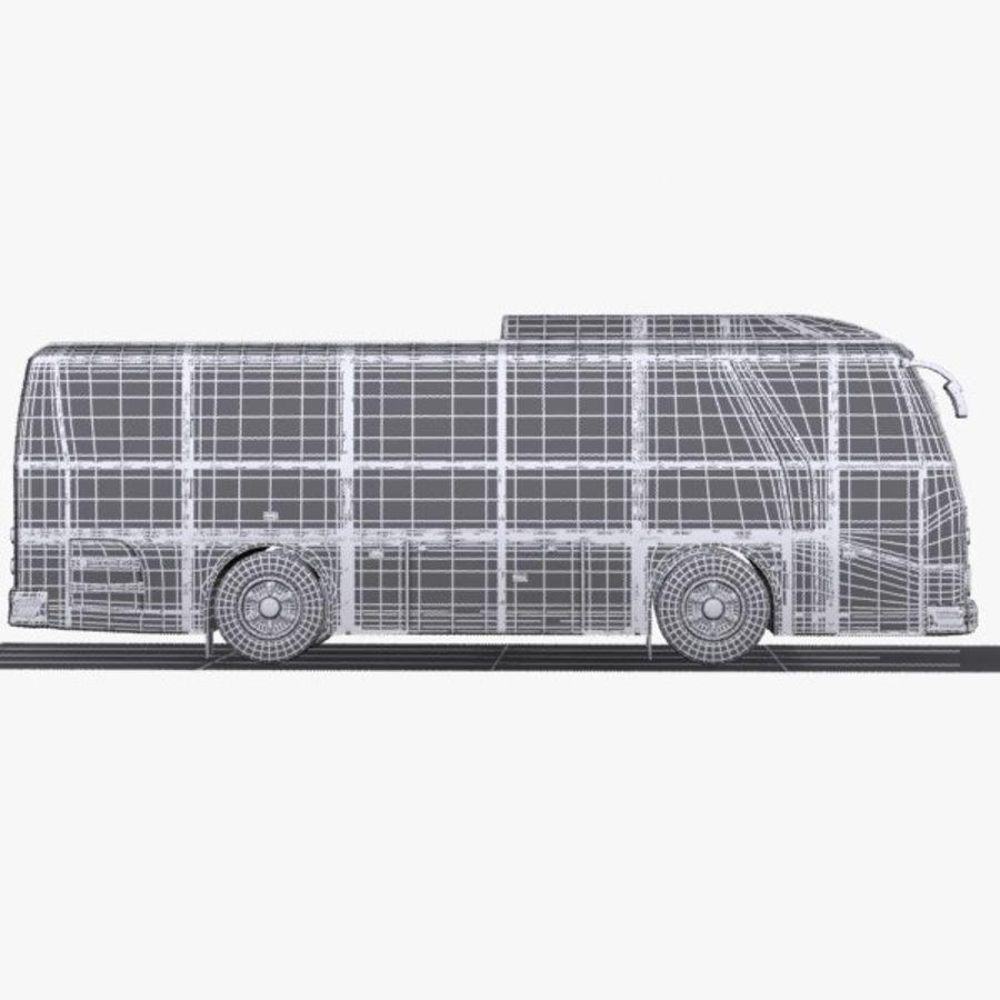 버스 royalty-free 3d model - Preview no. 10
