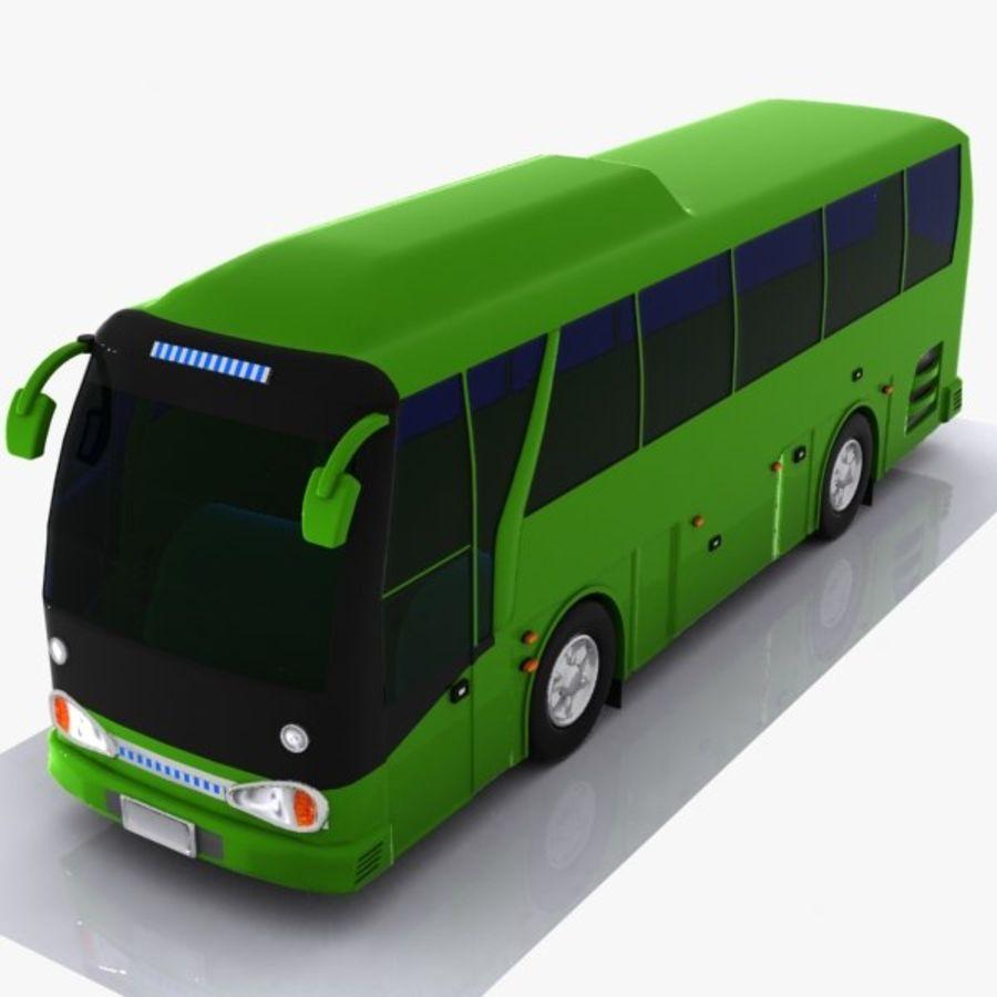 버스 royalty-free 3d model - Preview no. 1