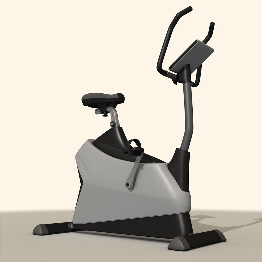 Exercise Bike royalty-free 3d model - Preview no. 4