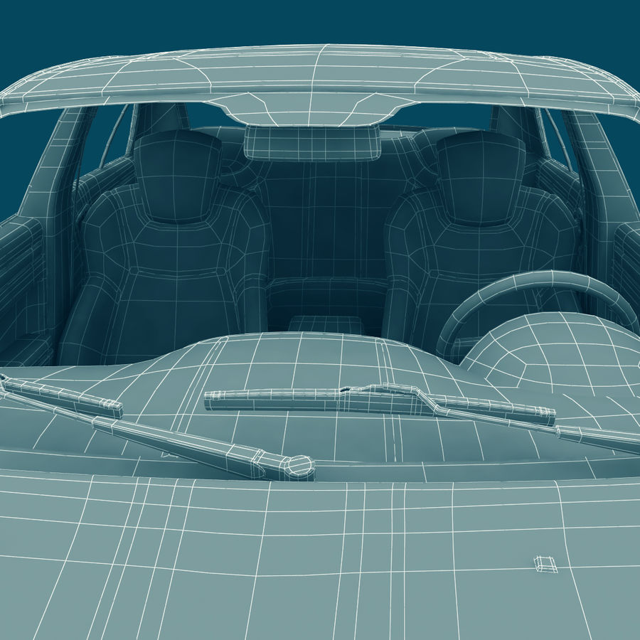 Chrysler 300 s royalty-free 3d model - Preview no. 28