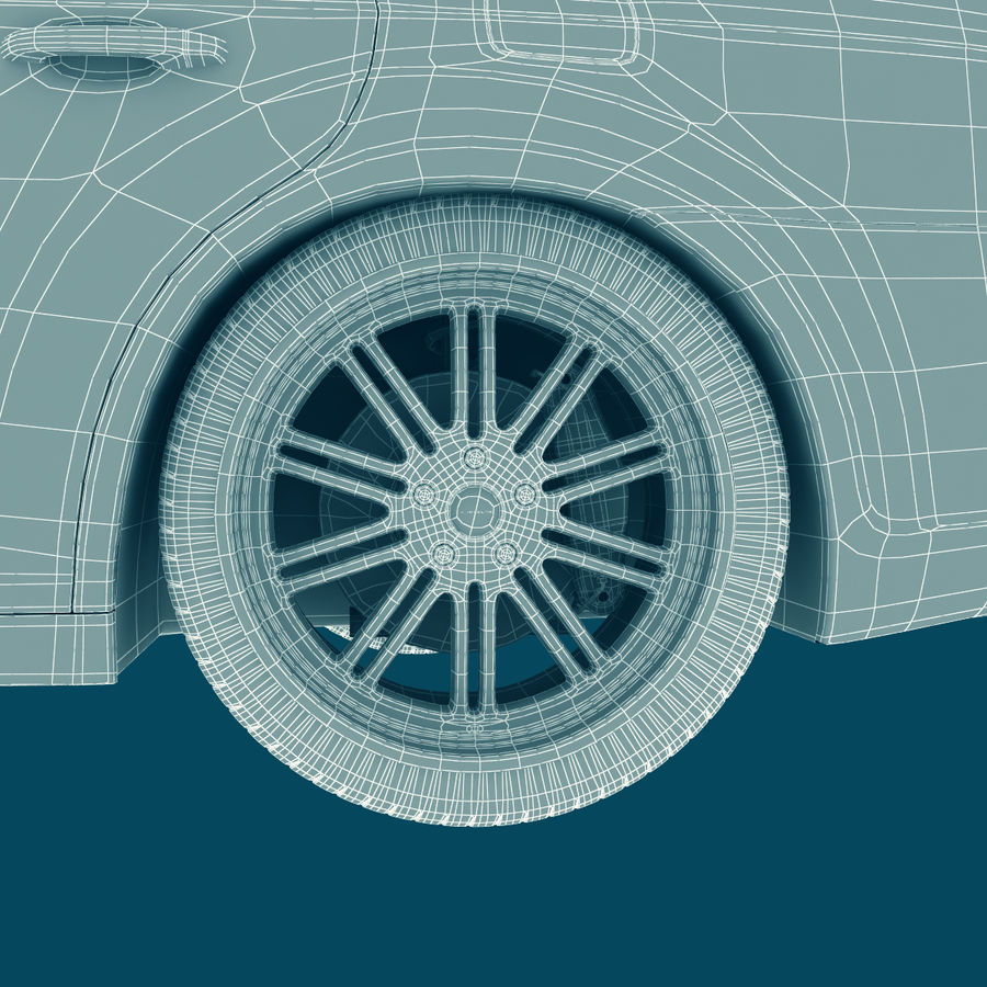 Chrysler 300 s royalty-free 3d model - Preview no. 26