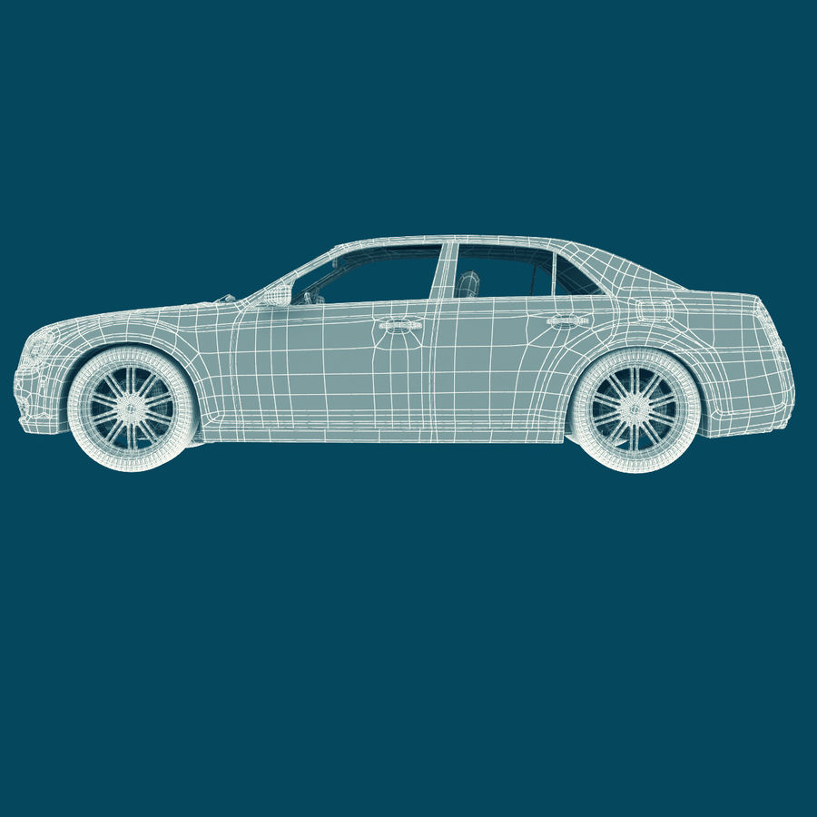 Chrysler 300 s royalty-free 3d model - Preview no. 20