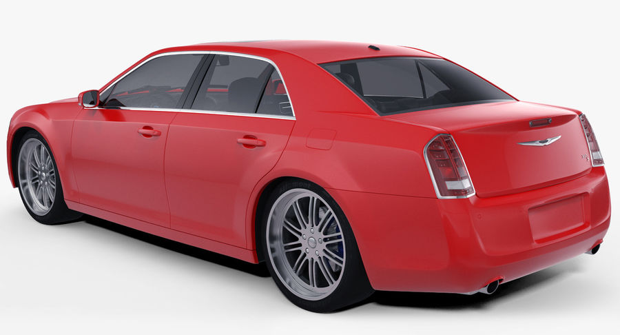 Chrysler 300 s royalty-free 3d model - Preview no. 1