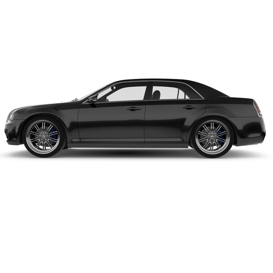 Chrysler 300 s royalty-free 3d model - Preview no. 7