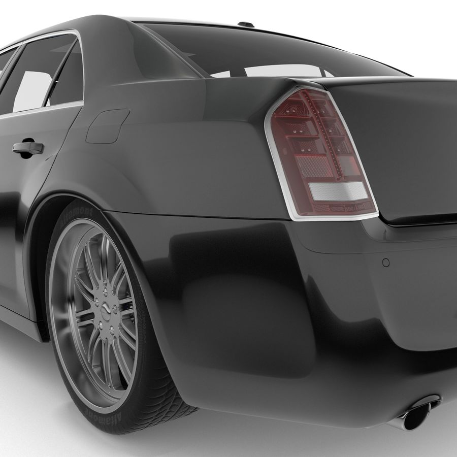 Chrysler 300 s royalty-free 3d model - Preview no. 11