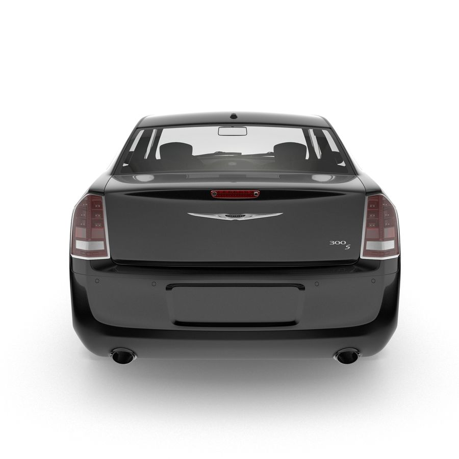 Chrysler 300 s royalty-free 3d model - Preview no. 9