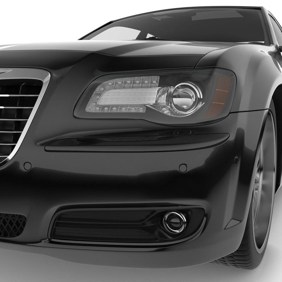 Chrysler 300 s royalty-free 3d model - Preview no. 12