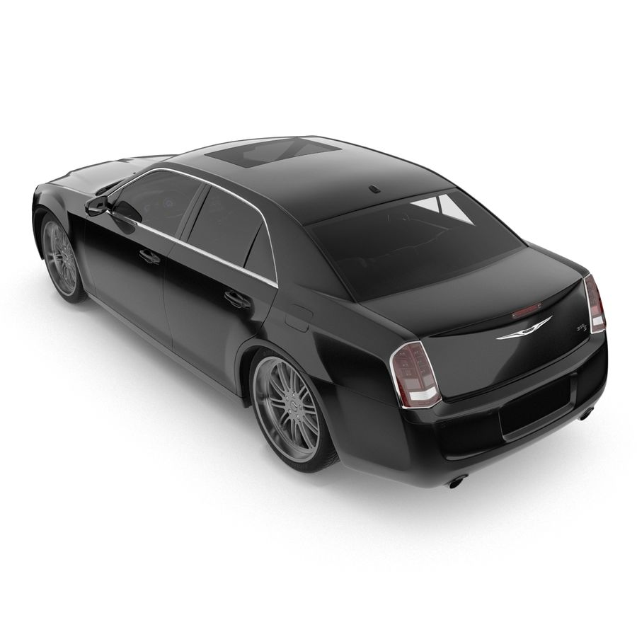Chrysler 300 s royalty-free 3d model - Preview no. 6