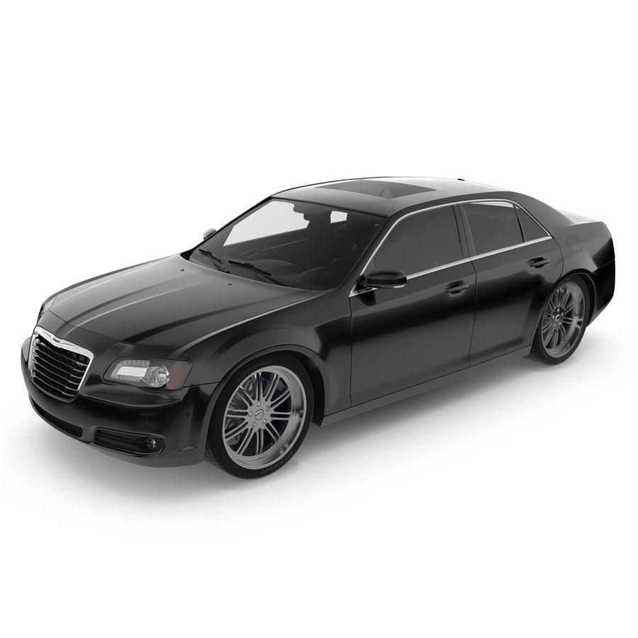 Chrysler 300 s royalty-free 3d model - Preview no. 5