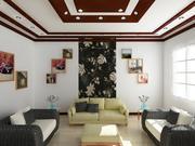 现实的室内空间 3d model