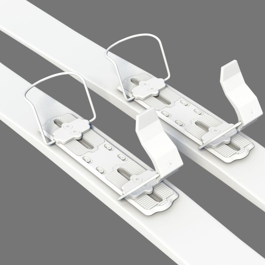 ski board 01 royalty-free 3d model - Preview no. 2