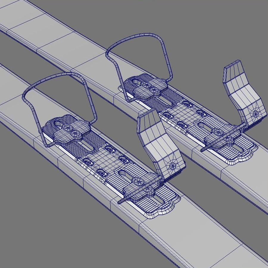 ski board 01 royalty-free 3d model - Preview no. 6