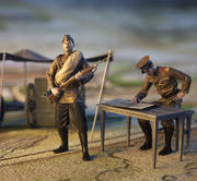 Żołnierze WW1 3d model