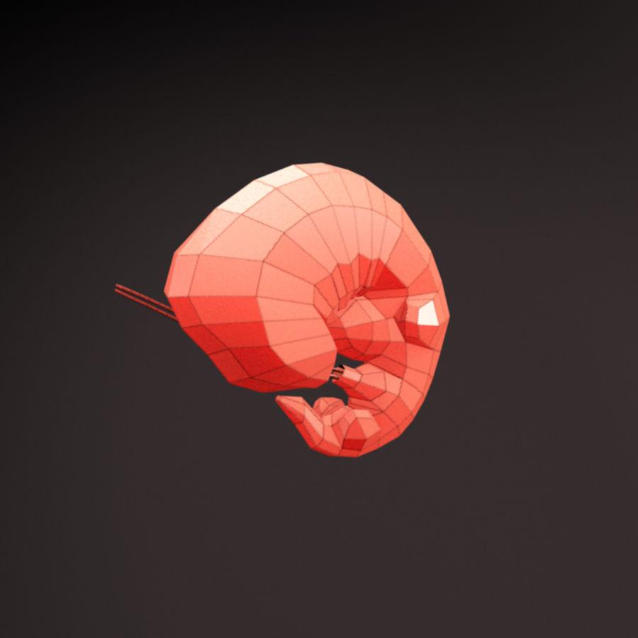 胎 royalty-free 3d model - Preview no. 7