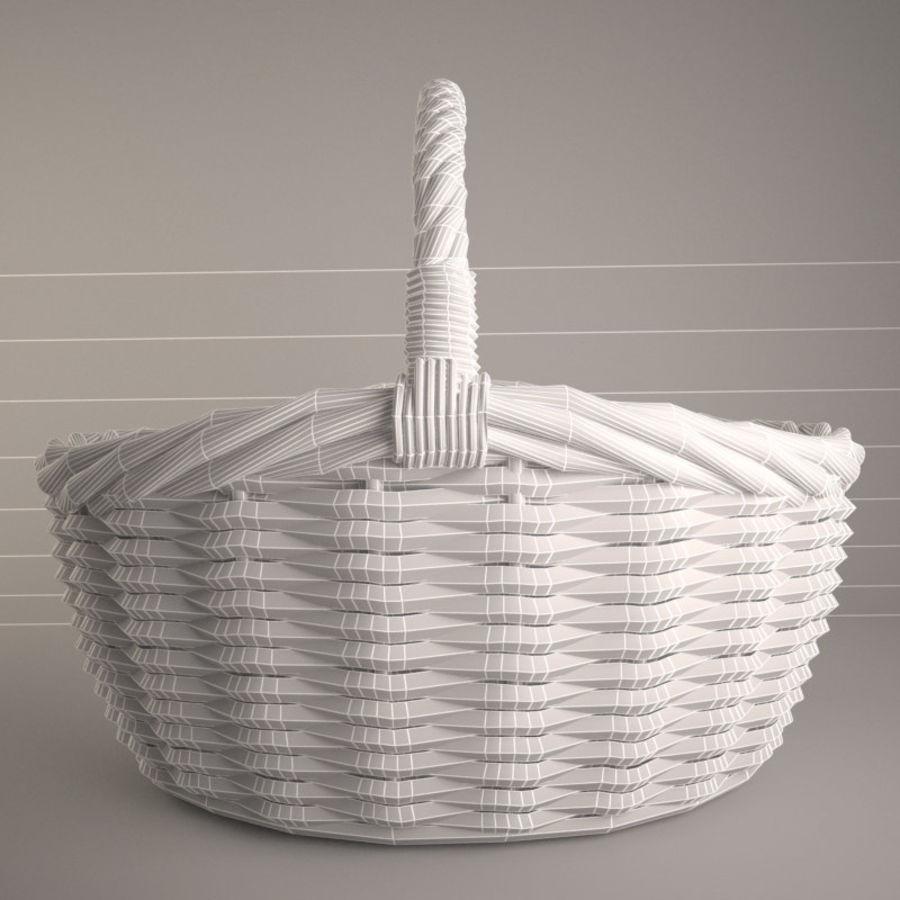 Basket 3 royalty-free 3d model - Preview no. 6