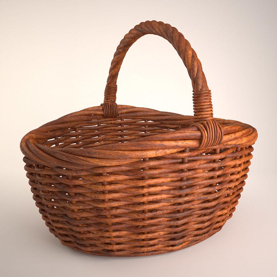 Basket 3 royalty-free 3d model - Preview no. 1