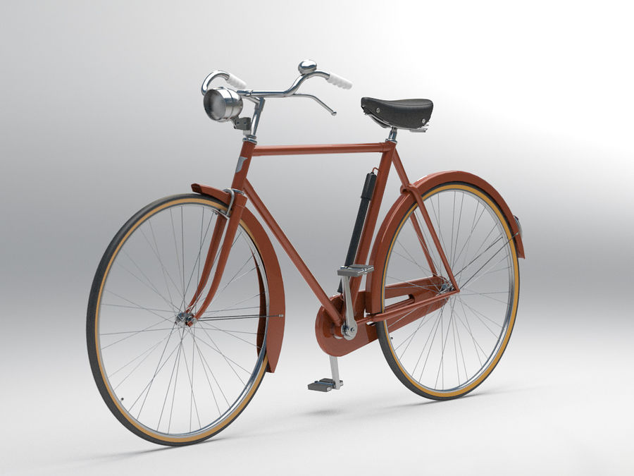 Bisiklet royalty-free 3d model - Preview no. 1