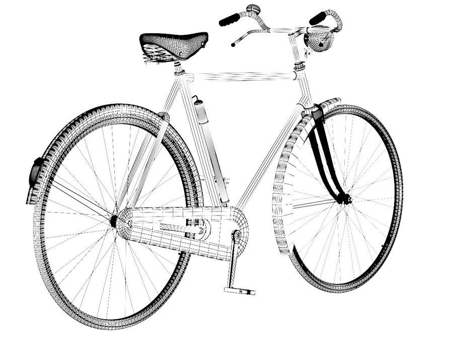 Bisiklet royalty-free 3d model - Preview no. 5