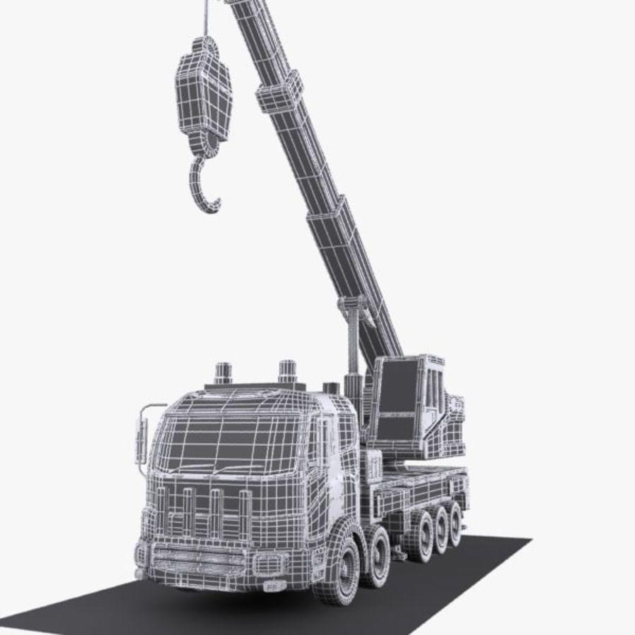 Cartoon Mobile Crane royalty-free 3d model - Preview no. 11