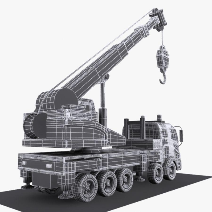 Cartoon Mobile Crane royalty-free 3d model - Preview no. 10