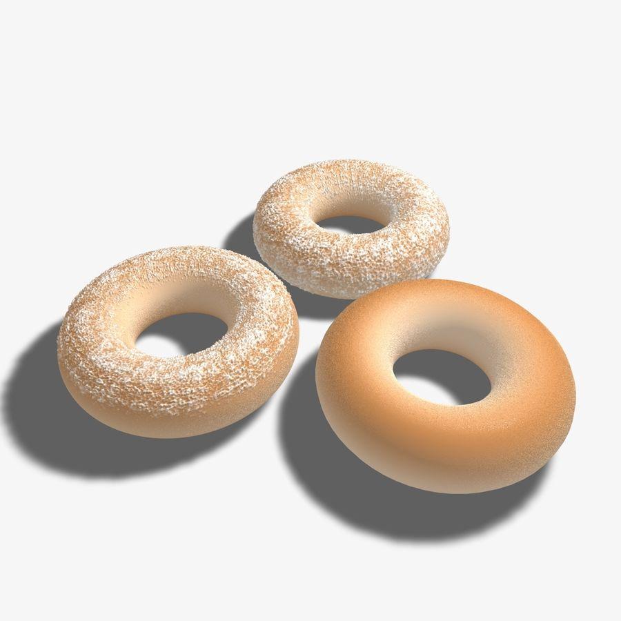 Ring Doughnuts royalty-free 3d model - Preview no. 2