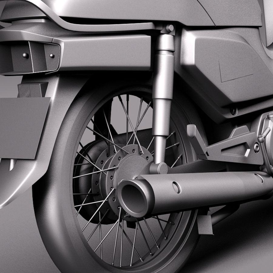 Honda Super Cub 2013 royalty-free 3d model - Preview no. 11