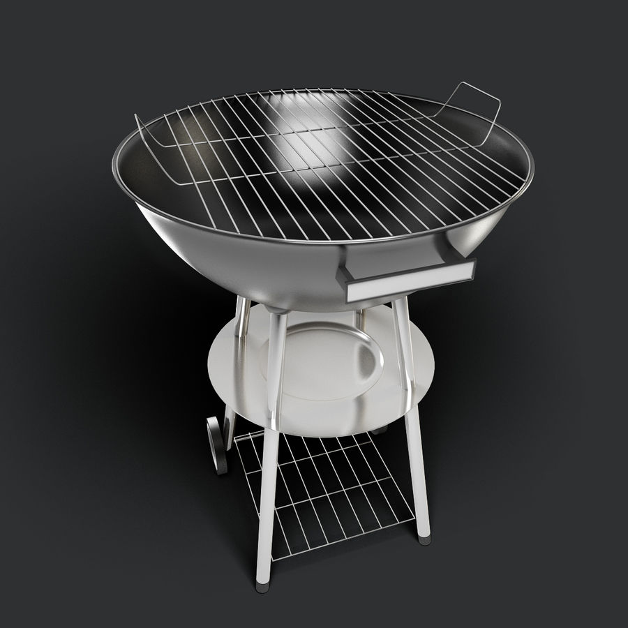 Grill royalty-free 3d model - Preview no. 1