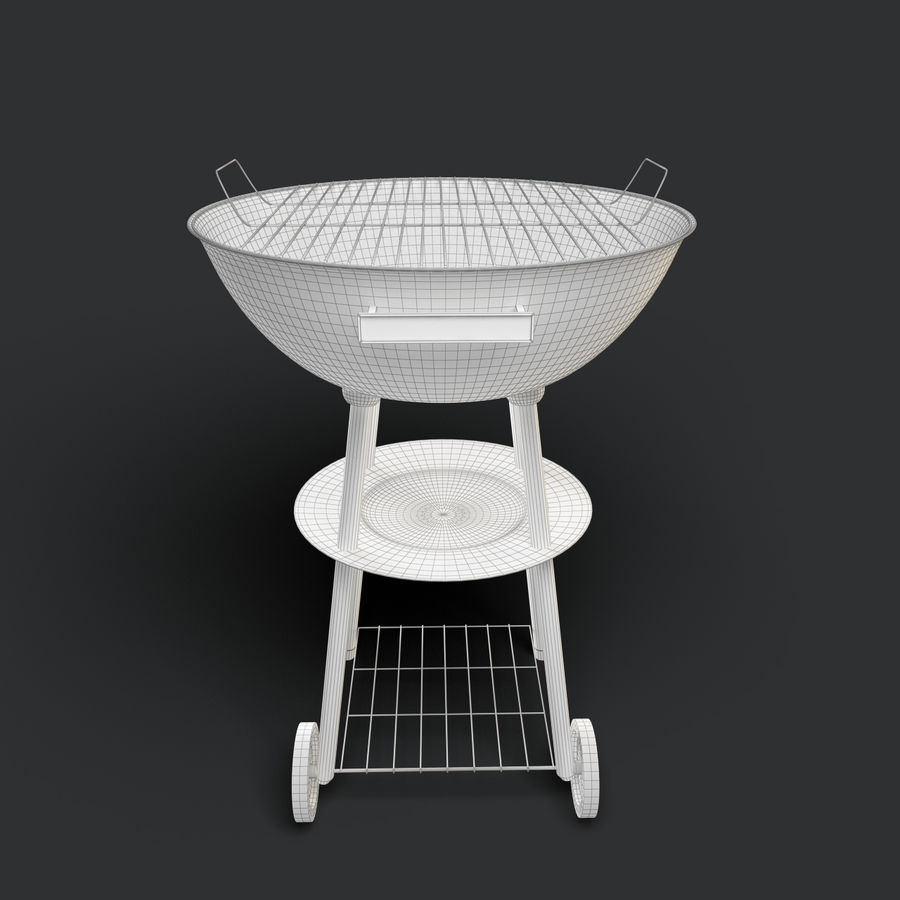 Grill royalty-free 3d model - Preview no. 5