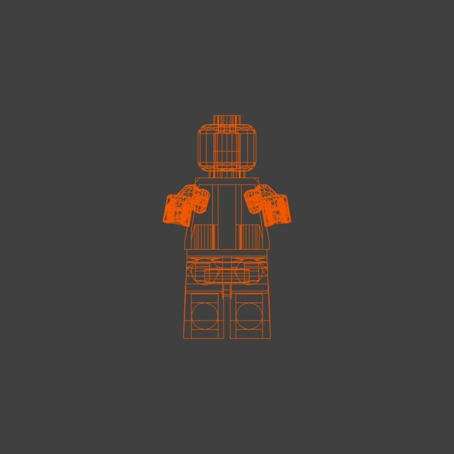 Legoman royalty-free 3d model - Preview no. 1