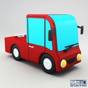 卡车v 2 3d model