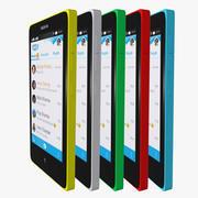 Nokia X 3d model