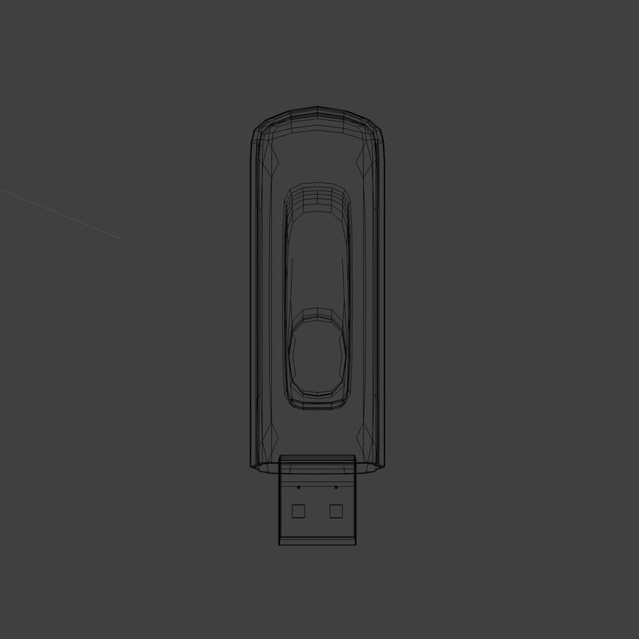 Flash Drive royalty-free 3d model - Preview no. 5