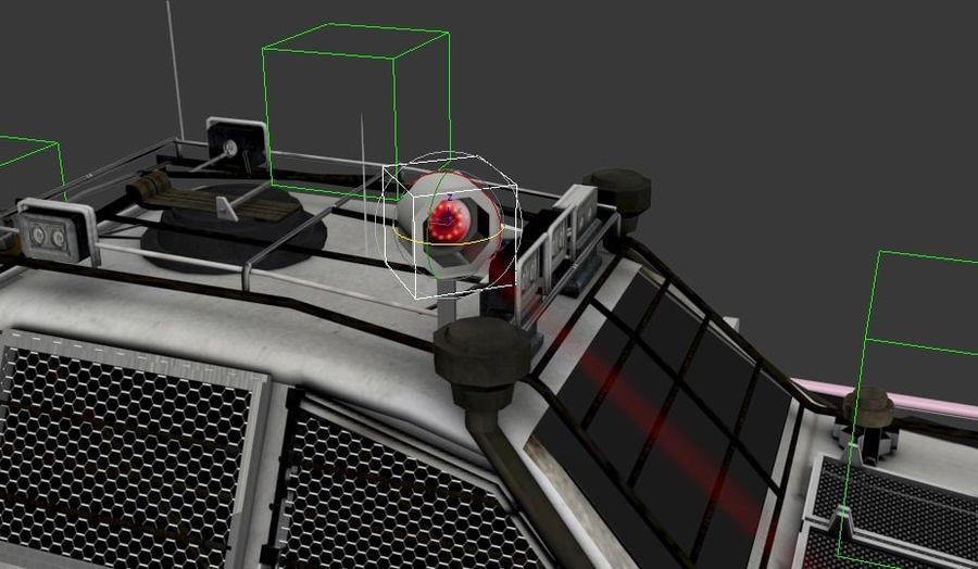 Car war royalty-free 3d model - Preview no. 5