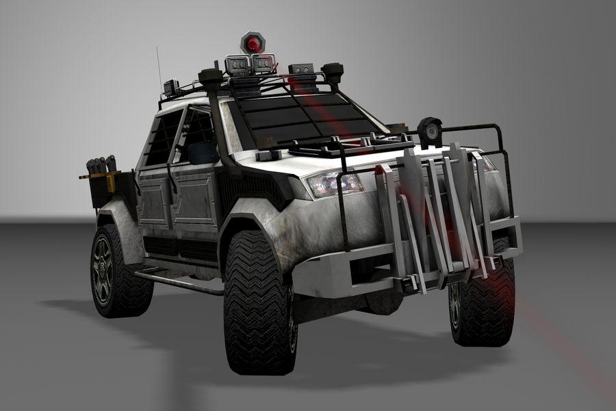 Car war royalty-free 3d model - Preview no. 12