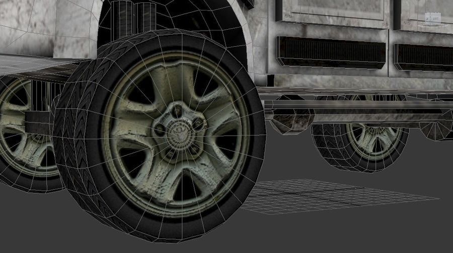 Car war royalty-free 3d model - Preview no. 16